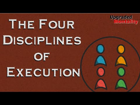 The Four Disciplines Of Execution - Chris McChesney, Sean Covey And Jim Huling: Book Summary