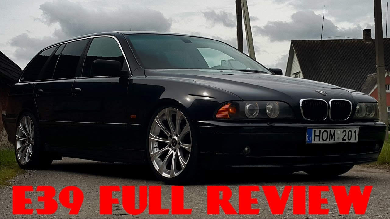 BMW E39 530D REVIEW ENGINE EXHAUST INTERIOR EXTERIOR  YouTube