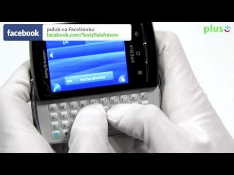 Sony Ericsson Xperia X10 mini pro - test recenzja Sony Ericsson Xperia X10 mini pro