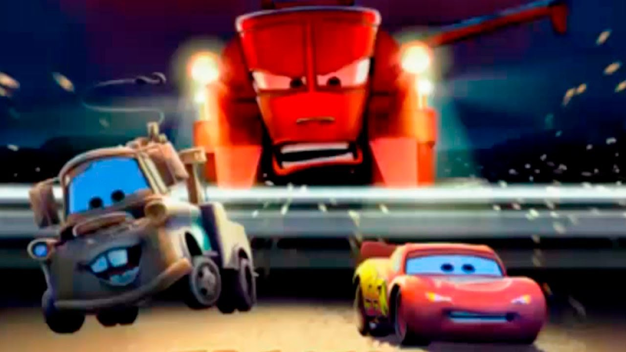 Pixar Cars Games Tractor Tipping