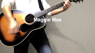 THE BEATLES : Maggie Mae - instrumental cover
