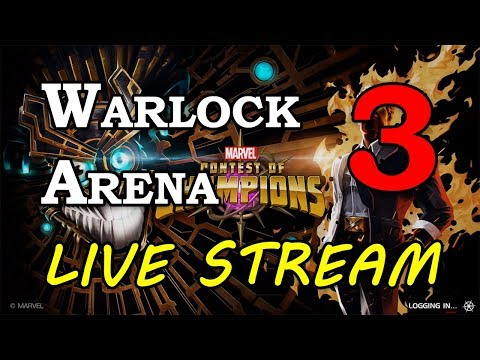 Warlock Arena - Part 3 | Marvel Contest of Champions Live Stream