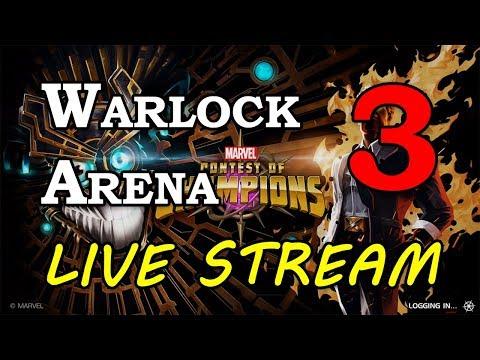 Warlock Arena - Part 3 | Marvel Contest of Champions Live Stream