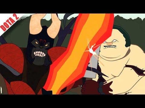 видео: Животные в Доте 2!! (Дота 2 мульт)