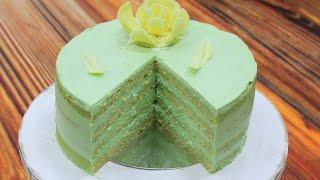 Бисквитный Фисташковый Торт / Pistachio Сake