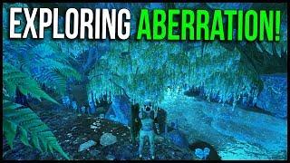 EXPLORING ABERRATION! - ARK Aberration Official PvP | Ep.3