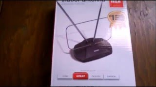 Unboxing Antena Interna RCA Canales HD