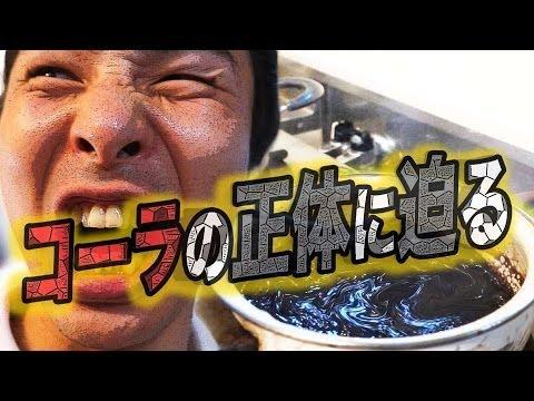話題の動画【コーラ濃縮】で本当にドロドロになるのかを調査!!そして食べる!!