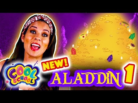 Aladdin and the Magic Lamp - NEW Part 1   Story Time with Ms. Booksy at Cool School