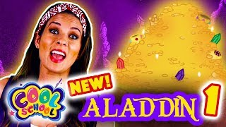 Aladdin and the Magic Lamp - NEW Part 1 | Story Time with Ms. Booksy at Cool School