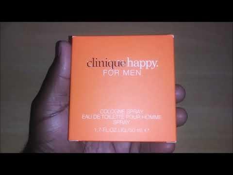 Clinique Happy unboxing review...