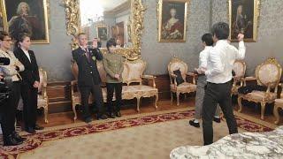 El Gobierno de Navarra recibe a una delegación de Yamaguchi y de su federación de karate