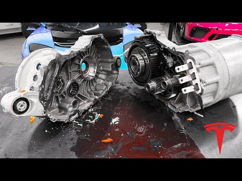 What's inside a Tesla Engine?