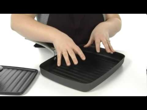calphalon unison nonstick grill pan and