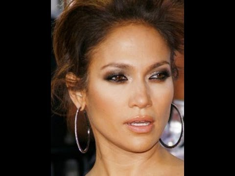 Jennifer Lopez Inspired Make up tutorial Smokey Brown Eyes
