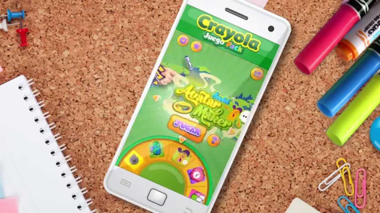 Crayola Juego Pack. Ahora 5 juegos en 1. - YouTube