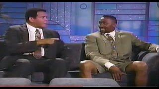 Muhammad Ali, Tommy Hearns on Arsenio Hall Show - June 1991 -