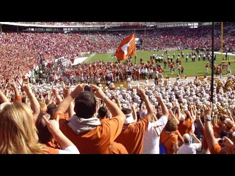 The Eyes of Texas after Texas 16 to 13 win over Oklahoma in 2009