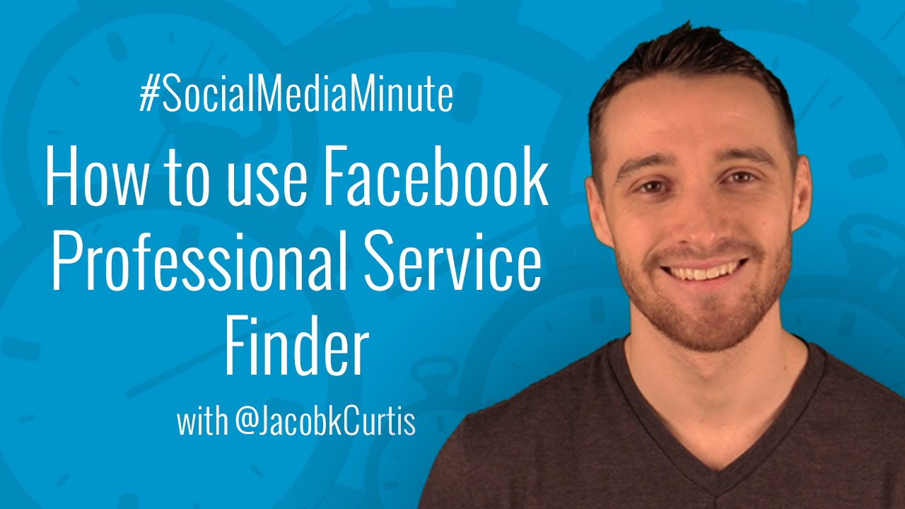 How to Use Facebook Professional Services Finder
