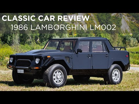 1986 Lamborghini LM002 | Classic Car Review | Driving.ca