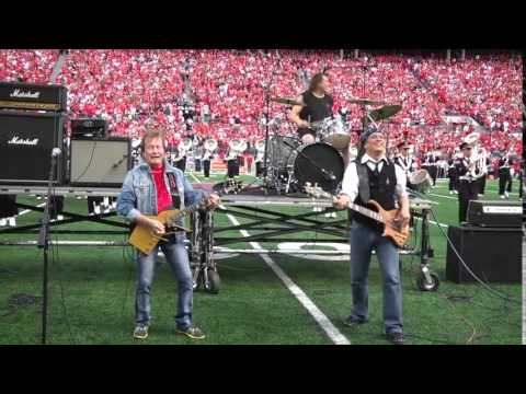 Ohio State football | Rick Derringer sings Hang On Sloopy