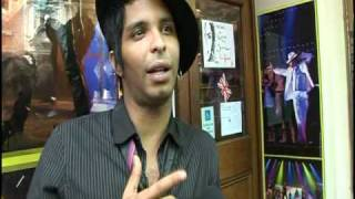 """Thriller Live"" Musical - Interview with Ricko Baird, leading performer [HQ]"