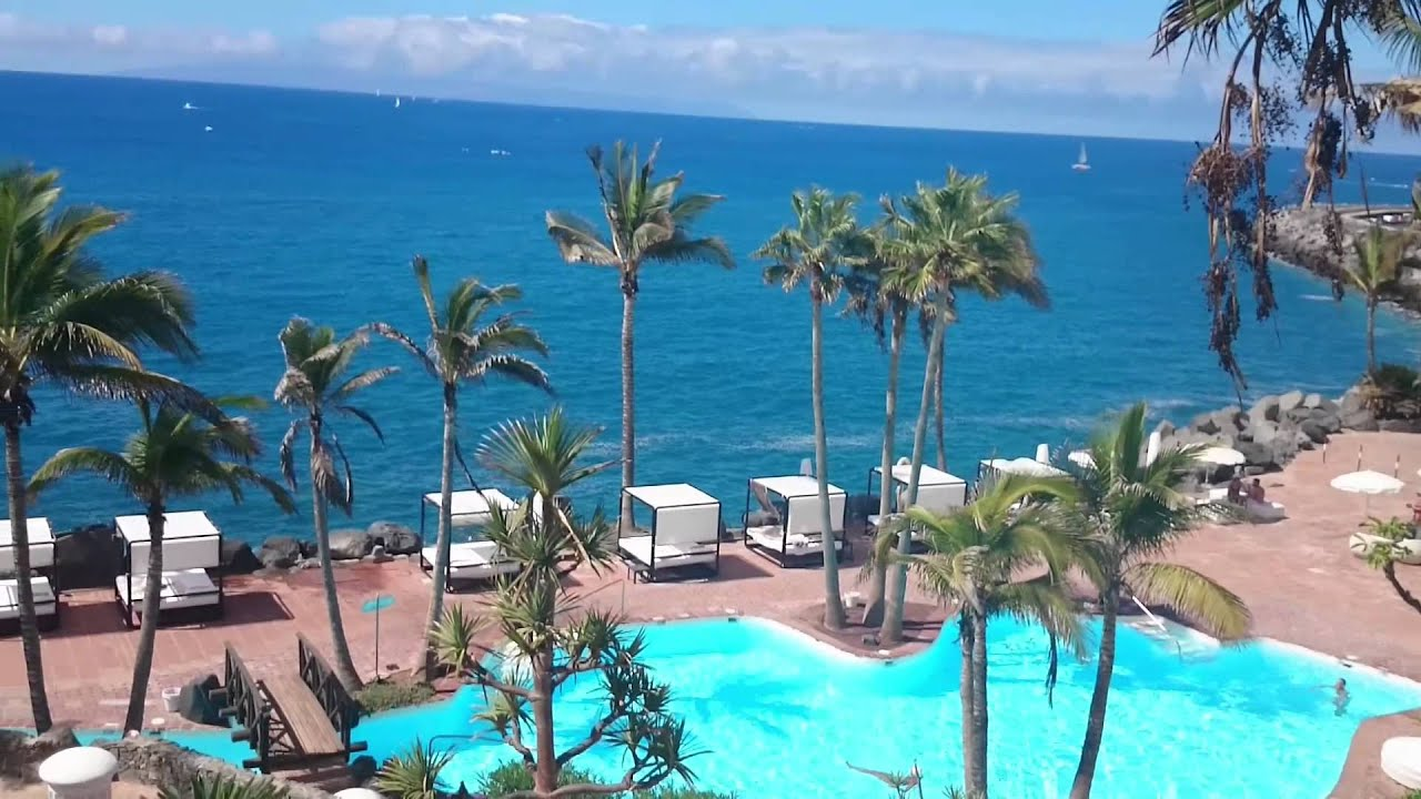 tenerife costa adeje jardin tropical teneriffa youtube