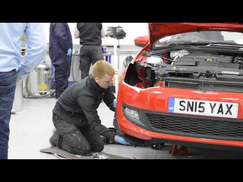 IMI SKILL AUTO: BODY REPAIR HEATS 2016