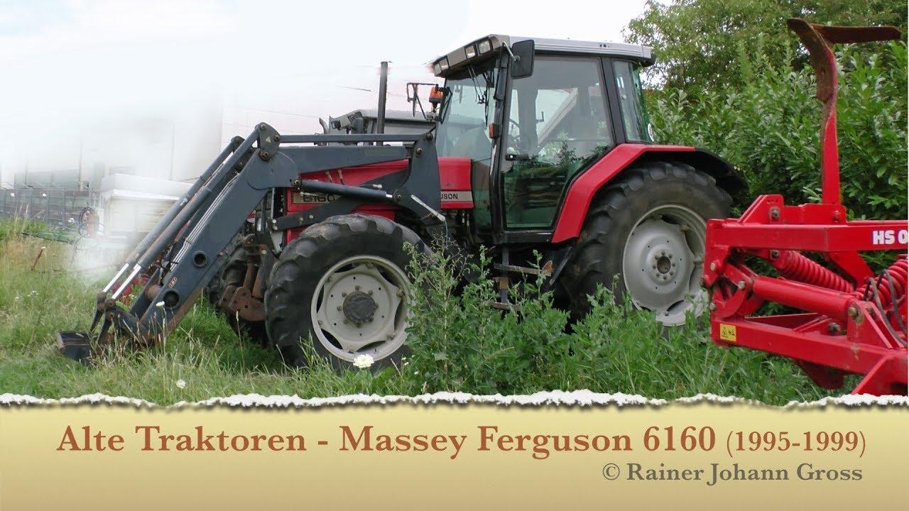 Alte Taktoren - Massey Ferguson 6160 (1995-1999)