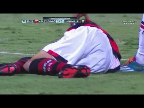 Atlético-GO 1 x 1 Joinville Melhores Momentos Campeonato Brasileiro Série B 27/09/2016