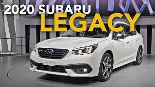 2020 Subaru Legacy First Look - 2019 Chicago Auto Show