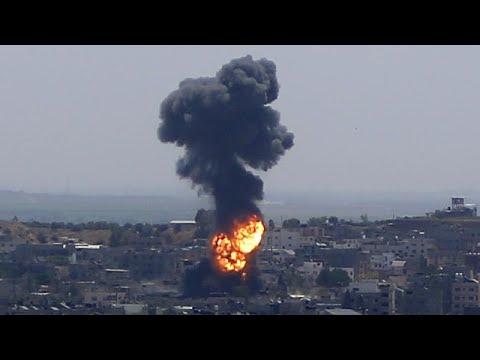 شاهد: صواريخ حماس والقبة الحديدة وحوار في السماء.. ومراسل قناة تي في 2 الدنماركية على الأرض…  - نشر قبل 8 ساعة
