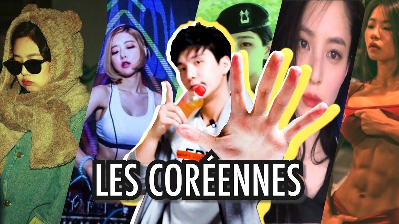 LES 5 TYPES DE FILLES CORÉENNES