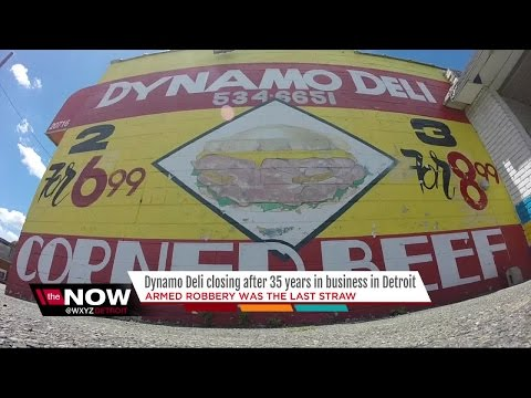 Dynamo Deli closing after 35 years in business in Detroit