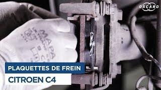 Paquettes AVANT Citroen C4-1.6 HDi 16V 90cv