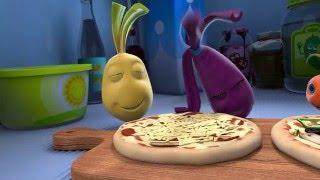 Прикольный мультик «Овощная вечеринка» - ДиДжей Пицца (12 серия)