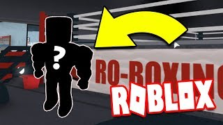 STRONGEST RO-BOXING PLAYER EVER! (ROBLOX)