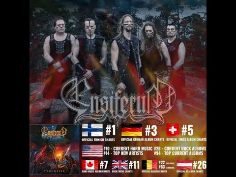 """Ensiferum debut lyric video for """"Run from the Crushing Tide"""" + album hits the charts!"""