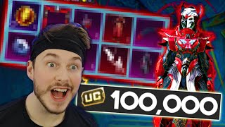 NEW BLOOD RAVEN SKIN OPENING! | $100,000 UC