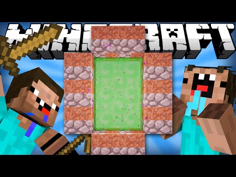 Thumbnail: If a Noob Dimension was Added | Minecraft