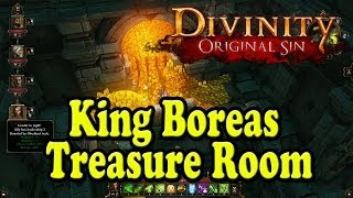 Divinity Original Sin - King Boreas Treasure Room