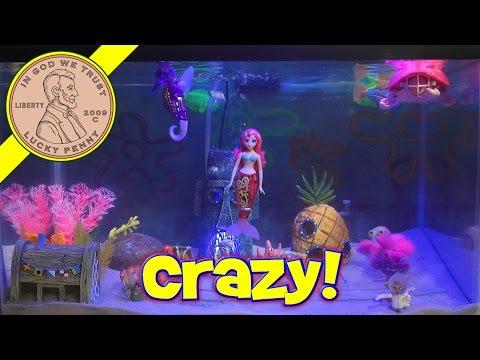 Spongebob Fish Tank - Clowny Fish Is Crazy!