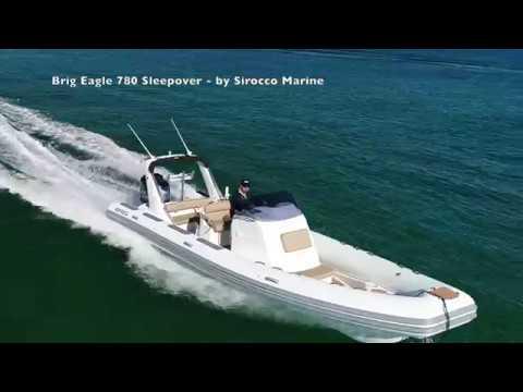 Brig Eagle 780 Sleepover Rigid Inflatable tender