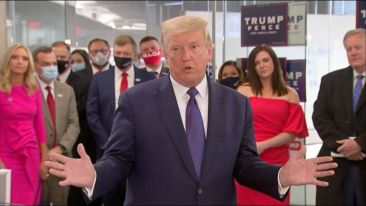 Trump: 'Winning is easy, losing is never easy'