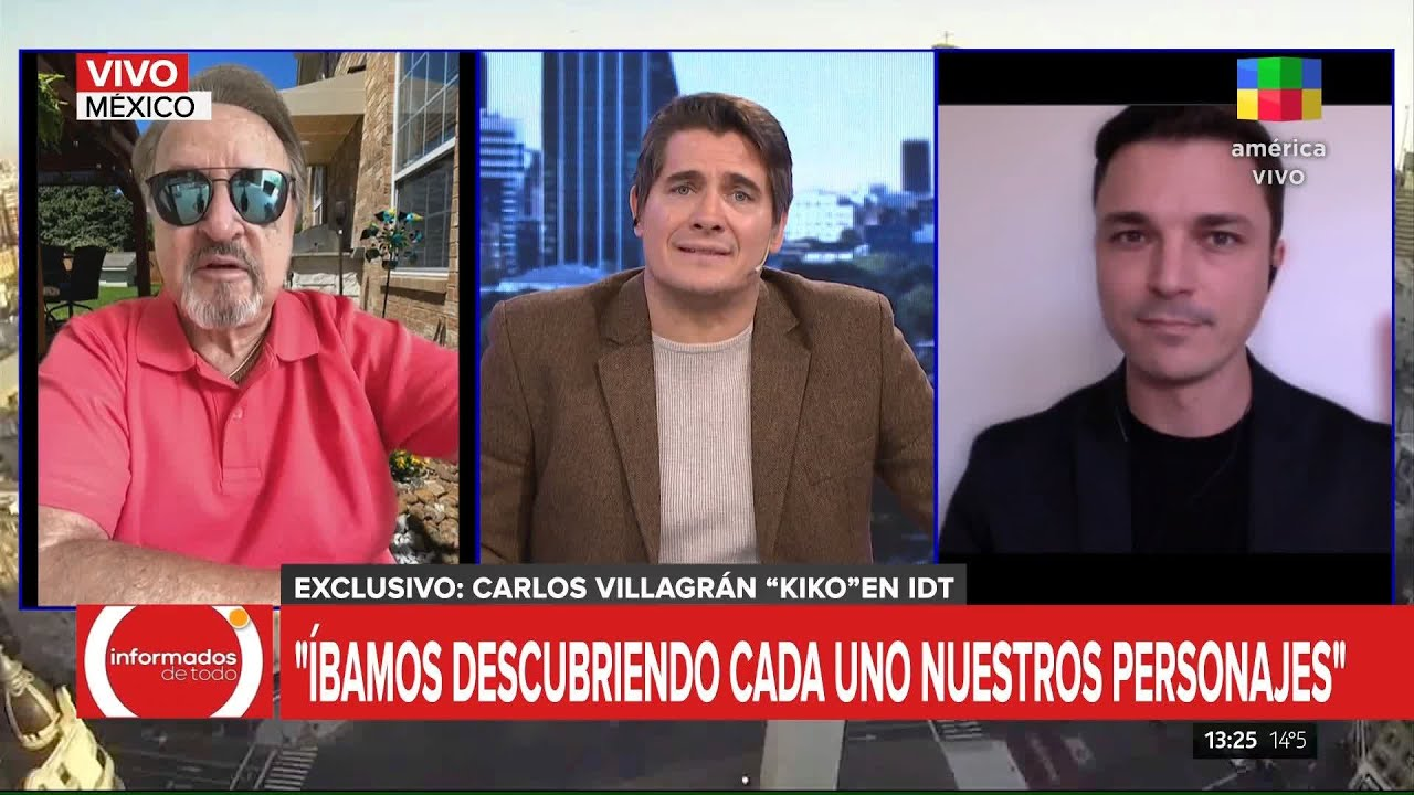 La desopilante anécdota de Carlos Villagrán sobre Pablo Escobar