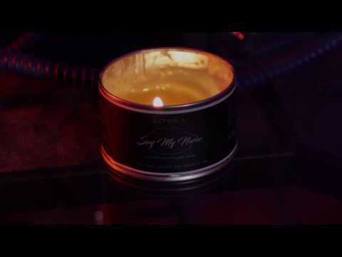 Say My Name Aromatherapy Massage Candle