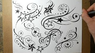 Shooting Star Tattoo Designs - Sketching Ideas