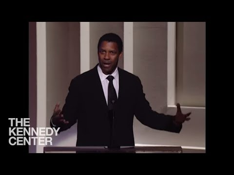 Denzel Washington (Morgan Freeman Tribute) - 2008 Kennedy Center Honors