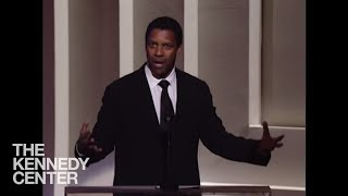 Denzel Washington (Morgan Freeman Tribute) - 2008 Kennedy Center Honors