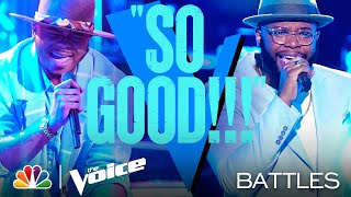 "Deion Warren vs. Victor Solomon - Usher's ""U Got It Bad"" - The Voice Battles 2021"
